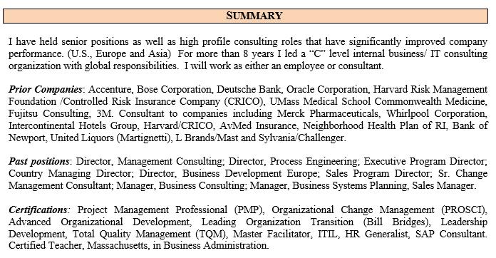 Resume Wayne Macneil Macneil Consulting